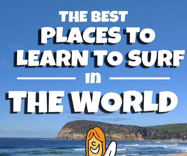 The Best Places to Learn to Surf in the World
