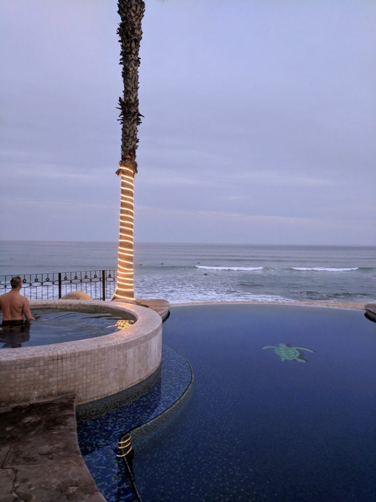 Sunsets at Cabo Surf hotel